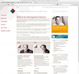 HEC screendump 26 maart 2012