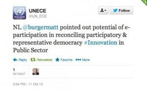 UNECE Tweet 2